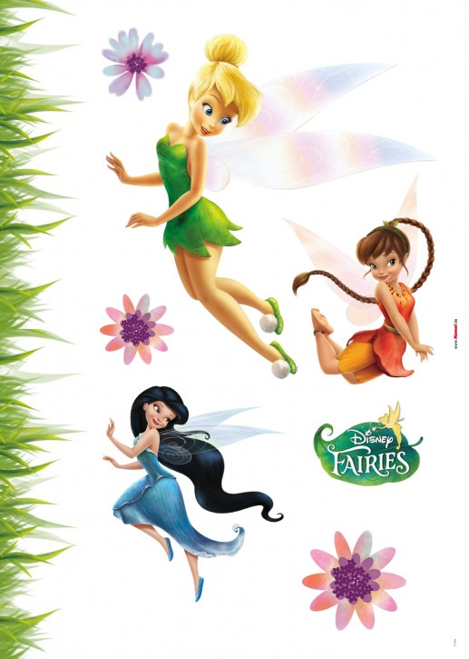 Wandsticker Disney Fairies