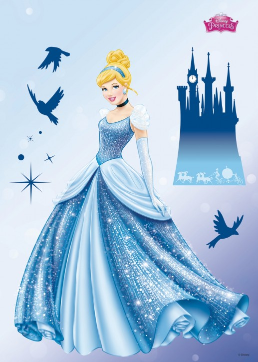 Wandsticker Disney Princess Dream