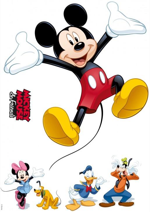 Wandsticker Disneys Mickey und seine Freunde