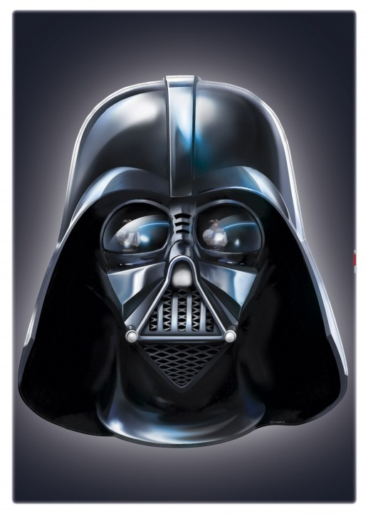 Wandsticker Star Wars Darth Vader
