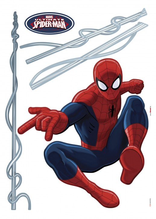 Wandsticker Marvels Spider-Man