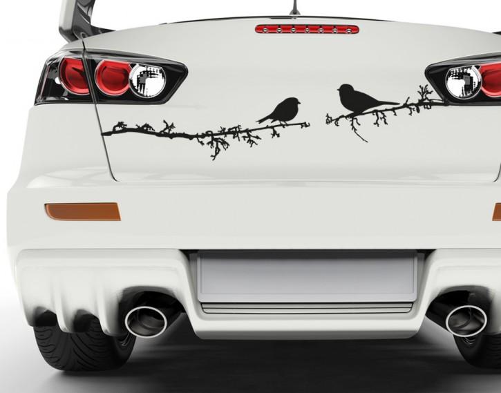 Autoaufkleber Turtelvögelchen