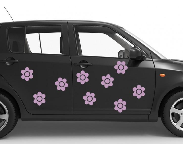 Autoaufkleber Blümchen