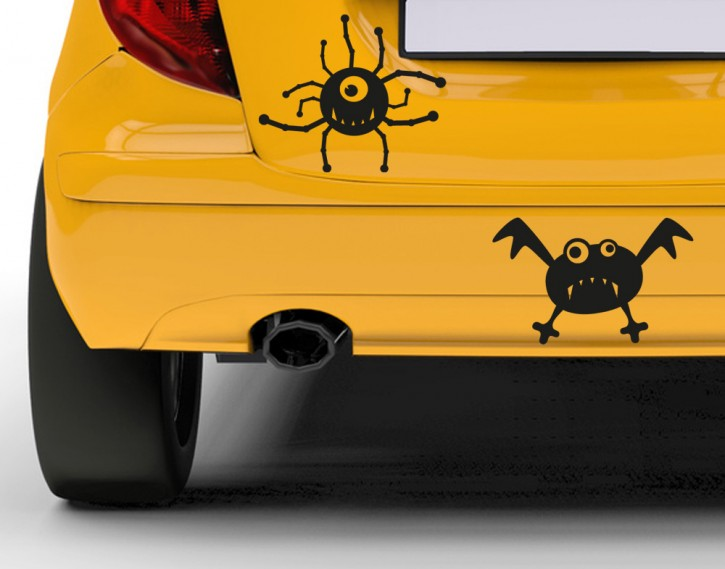 Autoaufkleber Helloweenies