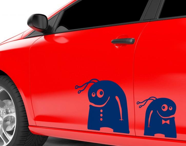 Autoaufkleber Kantenhocker