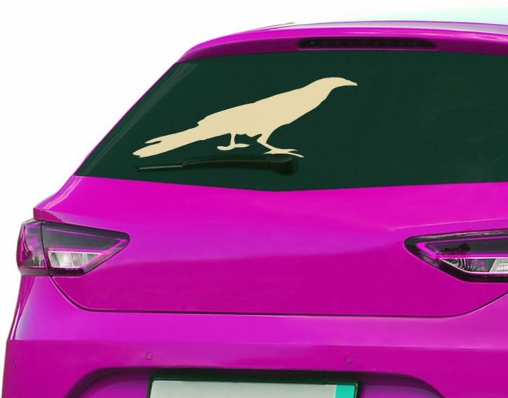 Autoaufkleber Krähe