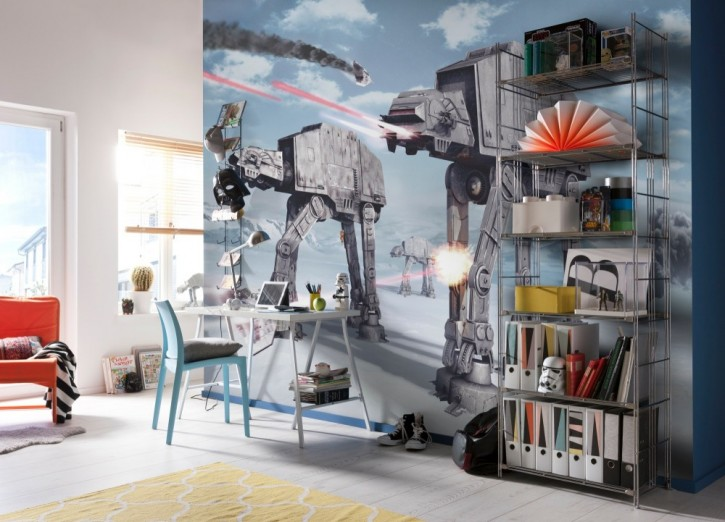 Fototapete Star Wars Battle of Hoth