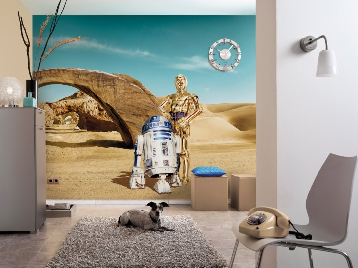 Fototapete Star Wars Lost Droids