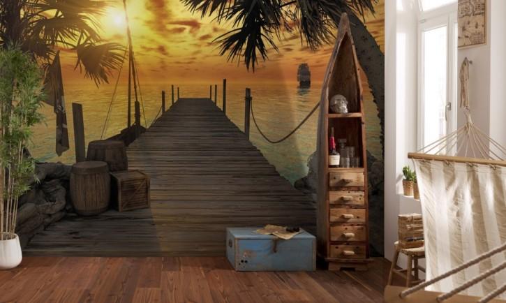 Fototapete Treasure Island