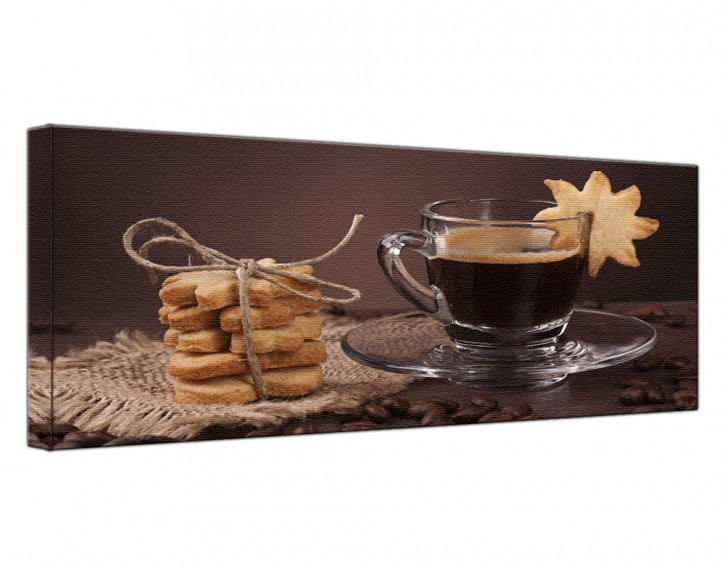 Leinwandbild Kaffee Lang