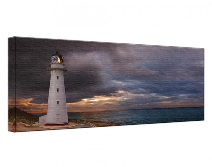 Leinwandbild Leuchtturm Lang