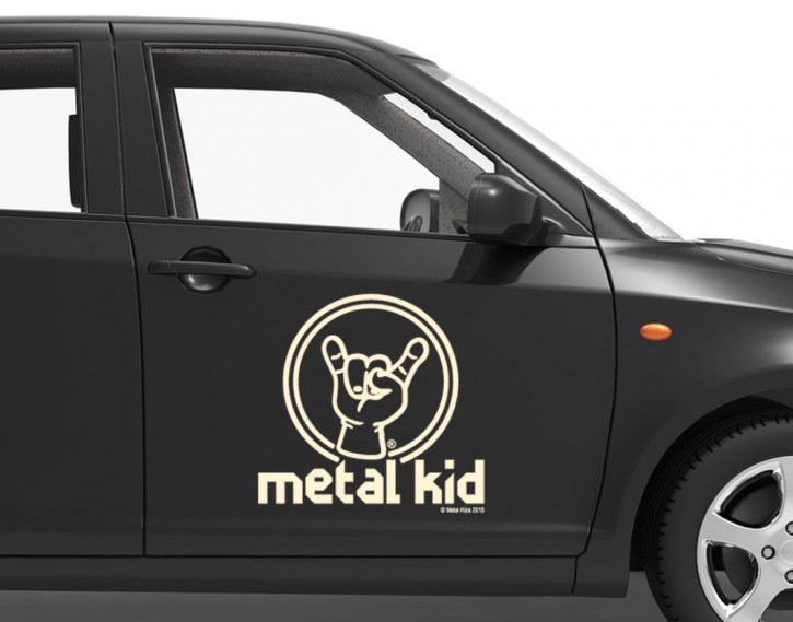 Autoaufkleber Metal Kid