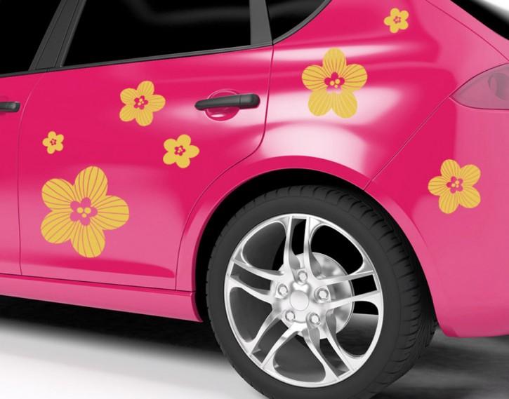 Autoaufkleber Streublüten