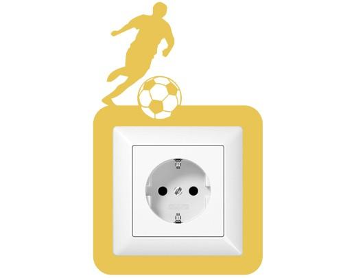 Steckdosentattoo Fußballer