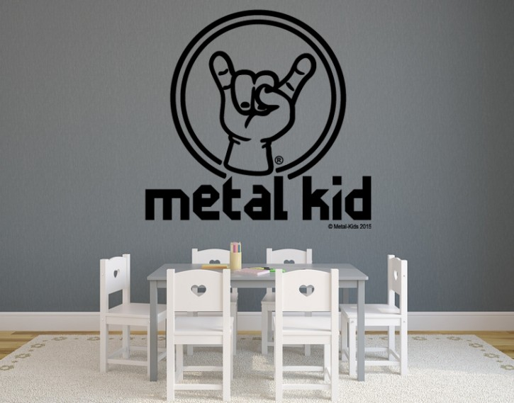 Wandtattoo Metal Kid