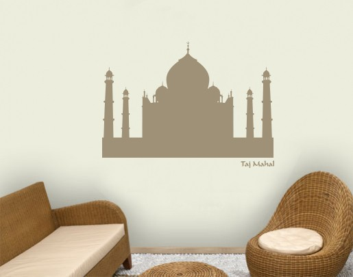 Wandtattoo Taj Mahal