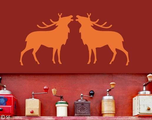 Wandtattoo Deers