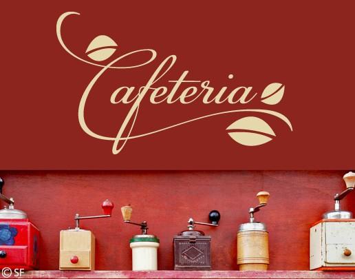 Wandtattoo Cafeteria