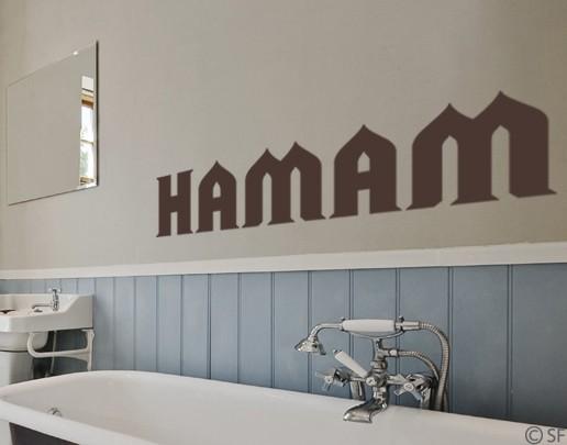 Wandtattoo Hamam
