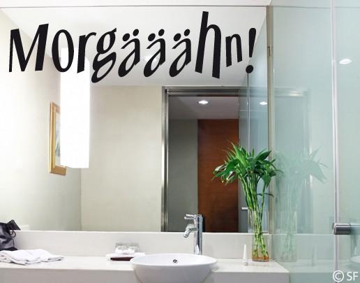Wandtattoo Morgääähn!