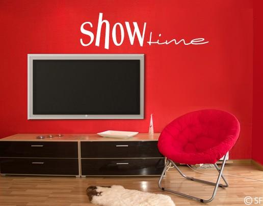 Wandtattoo Show Time