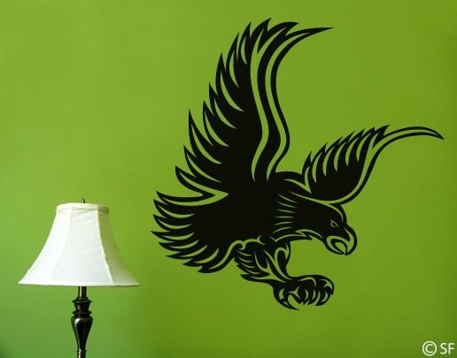 Wandtattoo Eagle