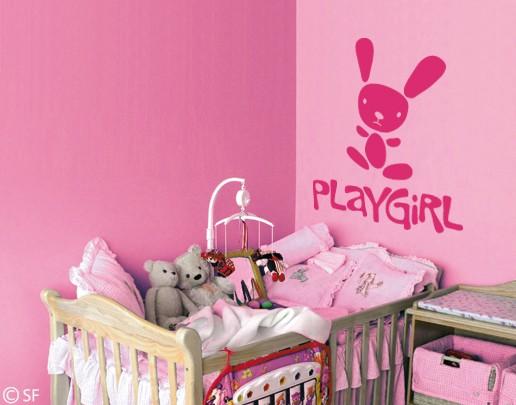 Wandtattoo Playgirl