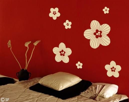 Wandtattoo Streublüten