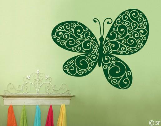 Wandtattoo King of Butterflies