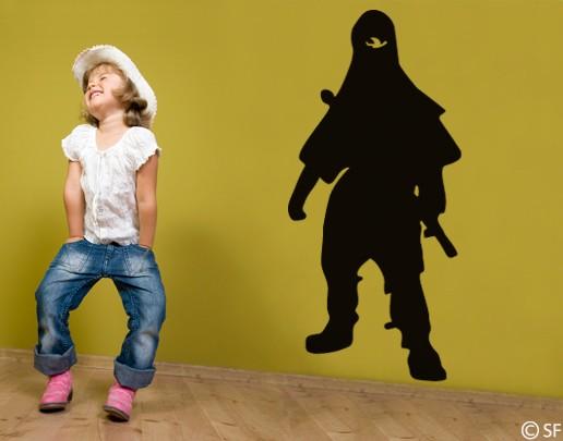 Wandtattoo Ninja