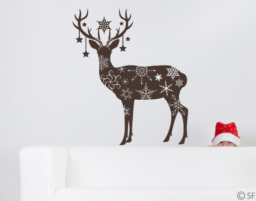 Wandtattoo Oh my deer
