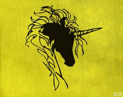 Wandtattoo Unicorn