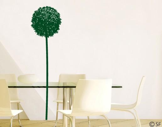 Wandtattoo Riesen-Allium