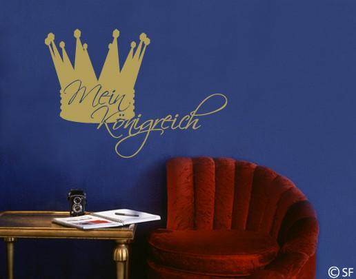 Wandtattoo Mein Königreich