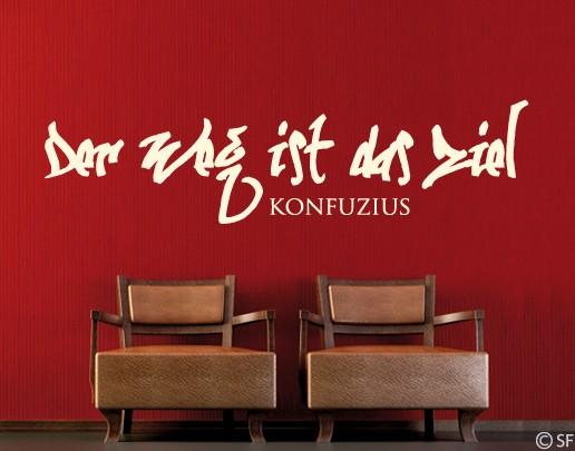 Wandtattoo Konfuzius