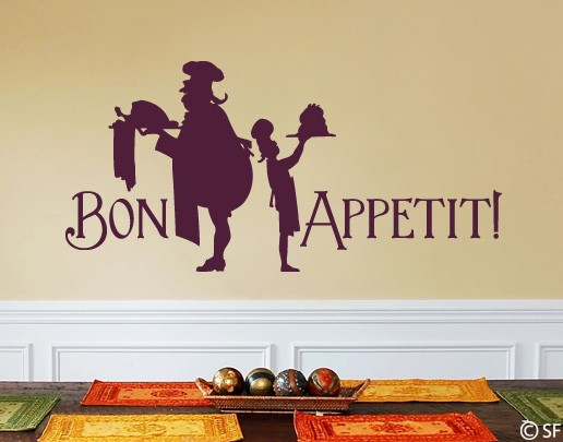 Wandtattoo Bon Appetit
