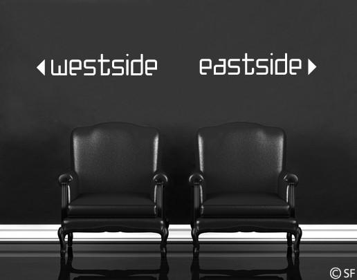 Wandtattoo westside eastside