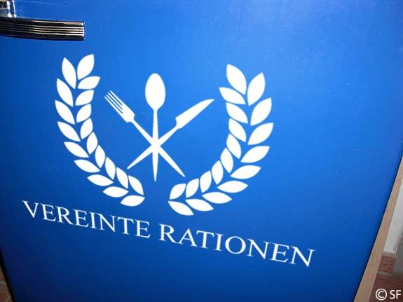 Wandtattoo Vereinte Rationen