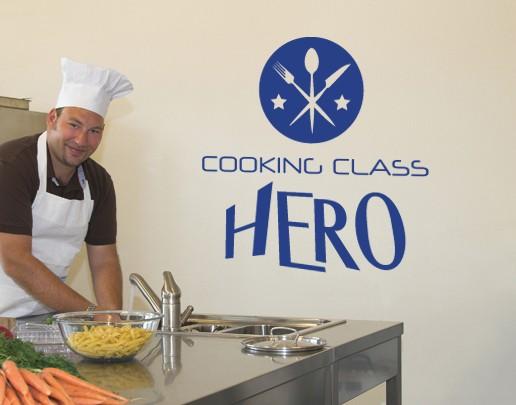 Wandtattoo Cooking Class Hero