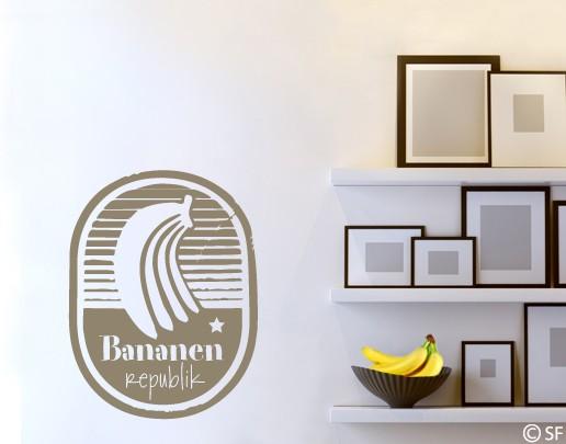 Wandtattoo Bananenrepublik