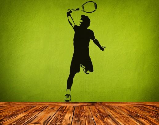 Wandtattoo Tennis Powershot
