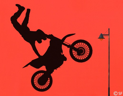 Wandtattoo Super Jump