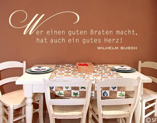 Wandtattoo Wilhelm Busch