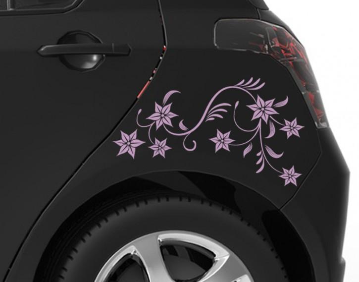 Autoaufkleber Blütenranke
