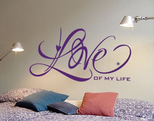 Wandtattoo Love of my Life