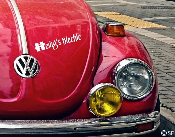 Autoaufkleber Heilig´s Blechle