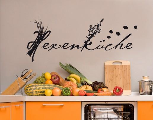 Wandtattoo Küche Hexenküche
