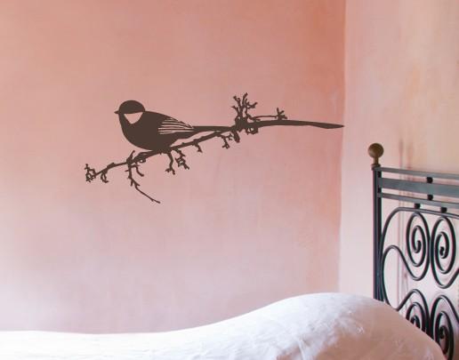 Wandtattoo Vögelein