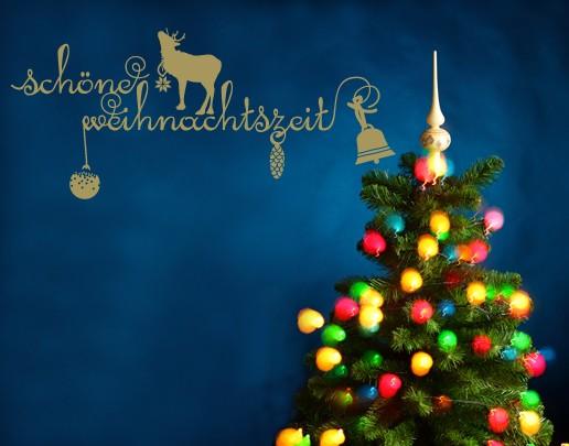 Wandtattoo Schöne Weihnachtszeit
