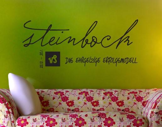 Wandtattoo Sternzeichen Steinbock